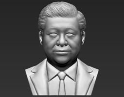 Xi Jinping bust 3D printing ready stl obj