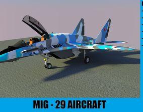 3D model MIG-29 AIRCRAFT