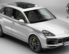 Porsche Cayenne Turbo 2018 3D high