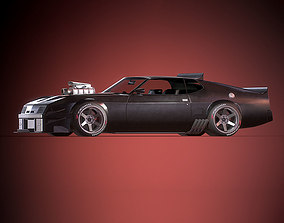 Mad Max Interceptor 3D model