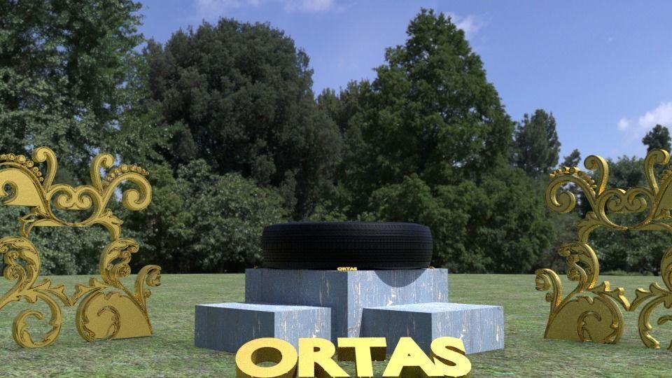ORTAS TIRE NO 4 GAME READY
