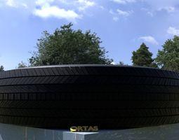 3D model ORTAS TIRE NO 5 GAME READY