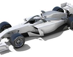 Generic F1 2015-2016 Race Car 3D Model