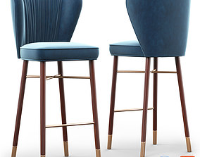 Cult Living Noa Luxury Bar Stool 3D model