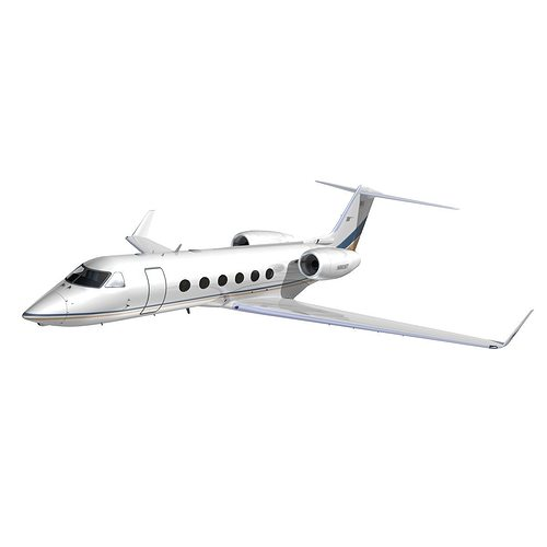 gulfstream 450 private livery 1 3d model animated max obj mtl 3ds lwo lw lws hrc xsi dxf 1