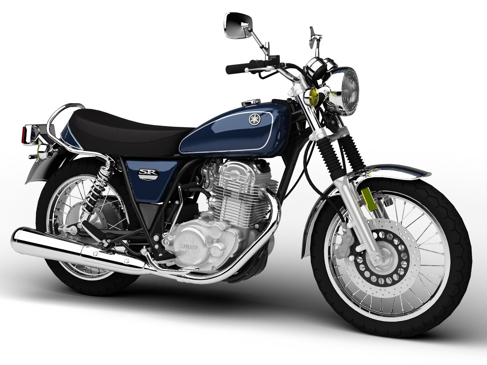Yamaha Sr400 2017 Model
