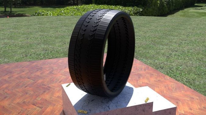 ortas tire no 46 game ready 3d model obj mtl fbx stl 1