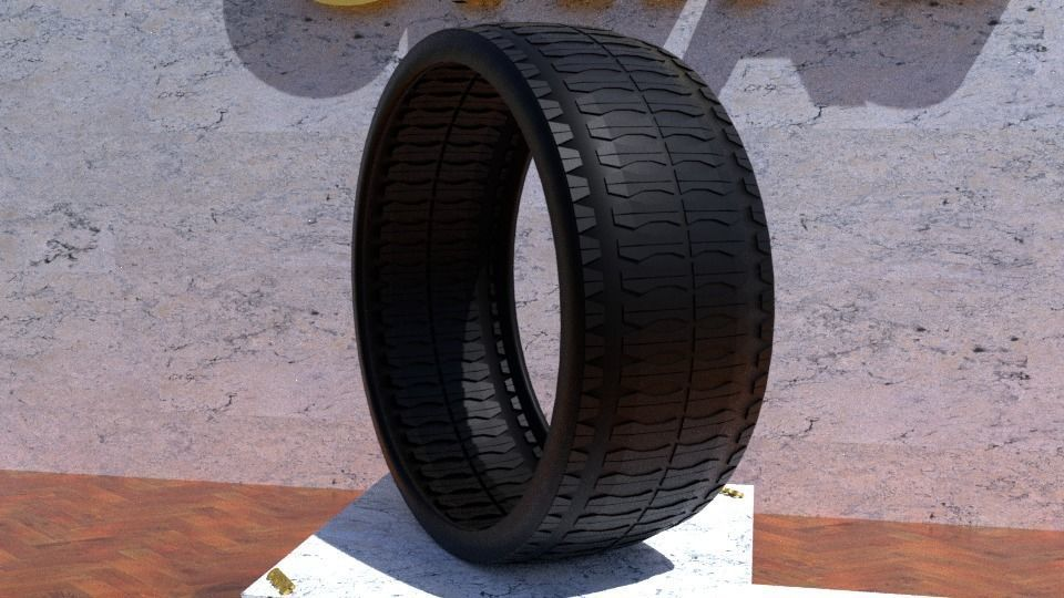ORTAS TIRE NO 32 GAME READY AND 3D PRINTABLE
