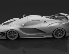 Ferrari Fxx Evo 2018 3D asset