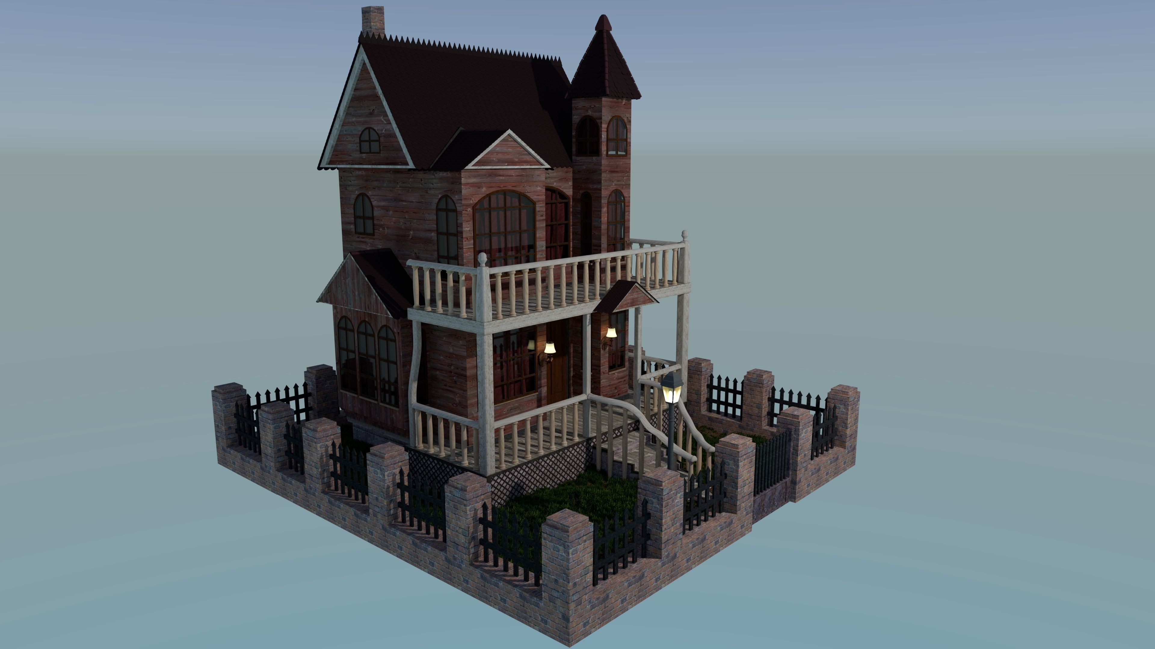 Victorian Ghost House