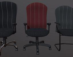 Ergonomic Office Chairs 3D model