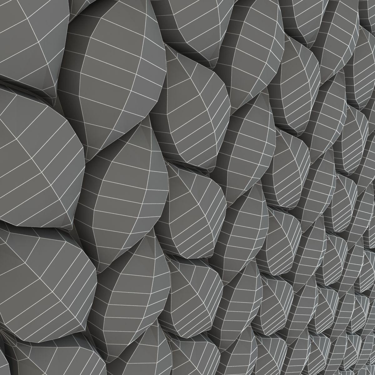3d Surface Tressia Wall Tiles 3d Model Max Obj 3ds Fbx