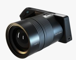 lytro illum digital camera 3d model max obj 3ds fbx
