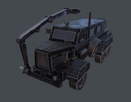 Buffalo Repair Vehicle 3D asset