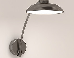 Saucer Chelsom Wall Light 3D model