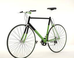 3D Racing Bike cycle