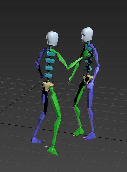 dance 3   3D model