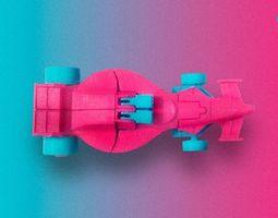 source files Mach Lander 3d printable car transformer