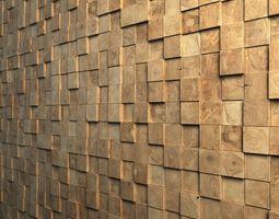 Teak Interior Cladding 3D Wall