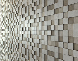 Apavisa Nanoevolution Tile Mosaic 3D model