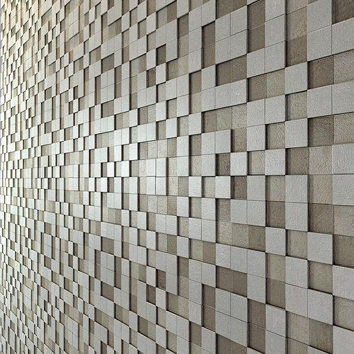apavisa nanoevolution tile mosaic 3d model max obj mtl 3ds fbx unitypackage prefab 1