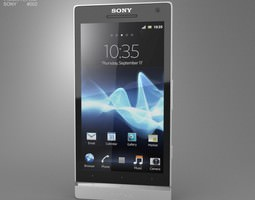 Sony Xperia S 3D model