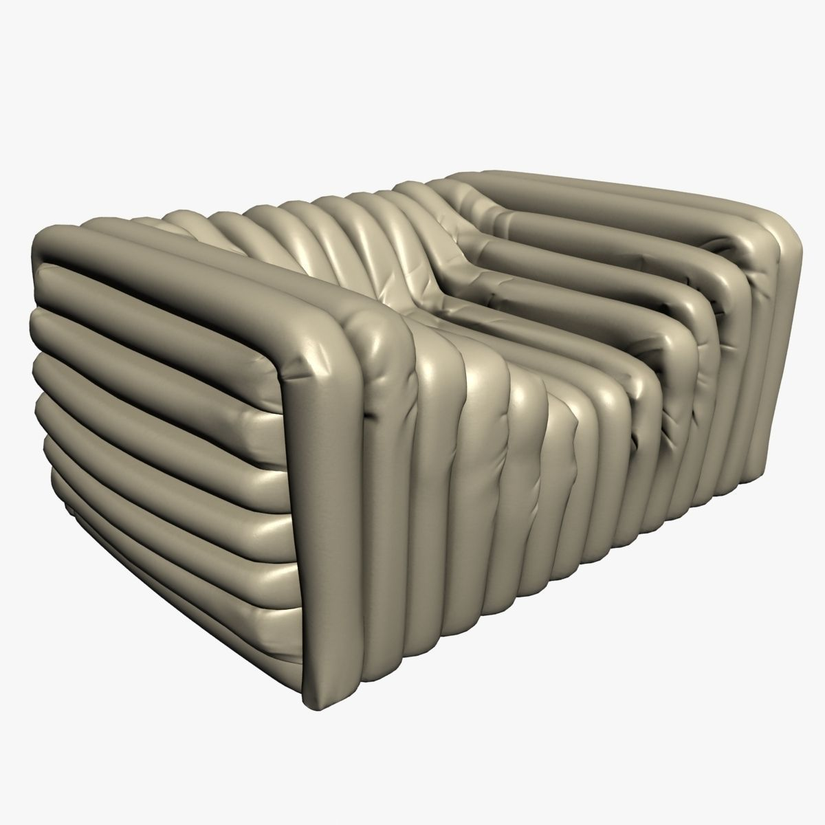 Merveilleux Versace Bubble Sofa 3D Model