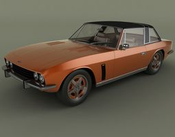 3D model Jensen Interceptor Coupe 1976