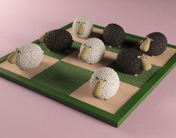 3D printable model Sheeps game
