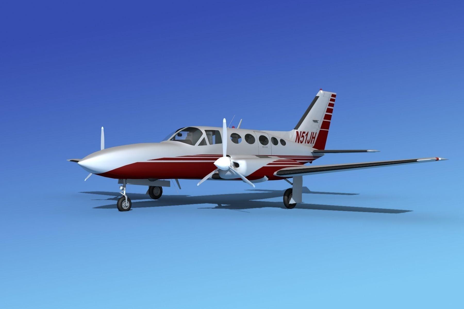 Cessna 414A Chancellor V10