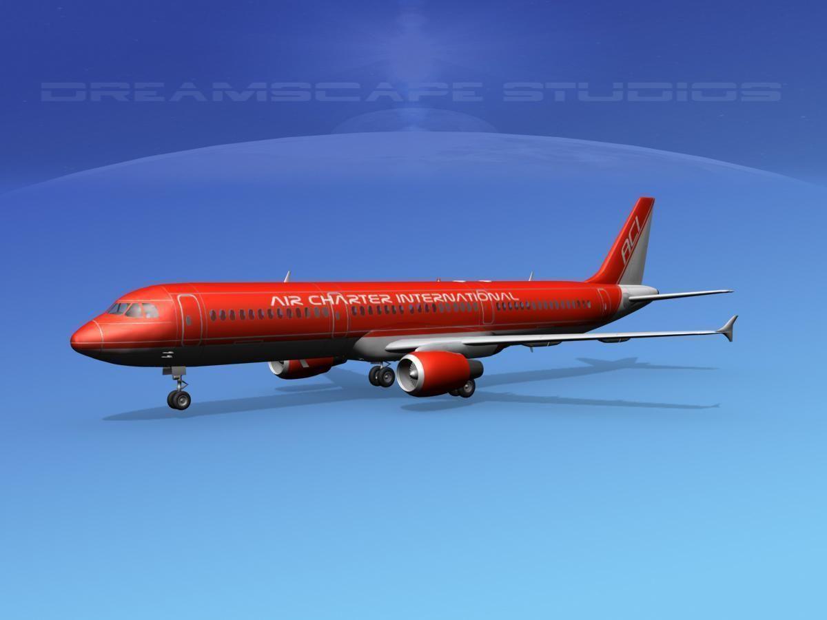 Airbus A321 Air Charter intl 2