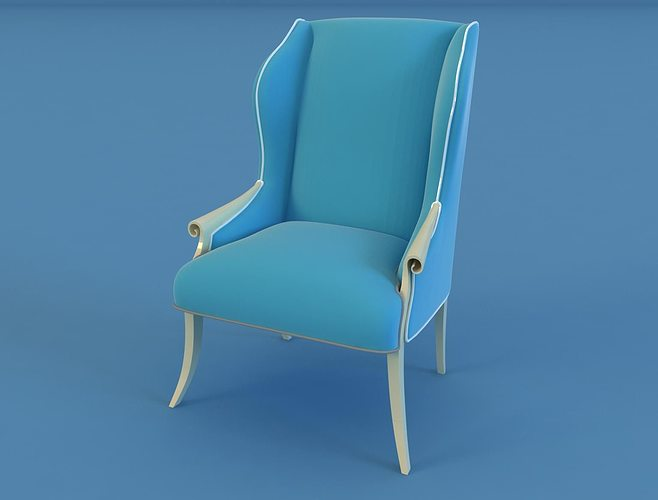 chiristopher guy  chair 30  0036 3d model max 1