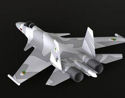 3D Sukhoi 35