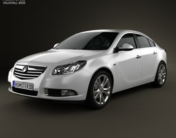 Vauxhall Insignia hatchback 2012 3D