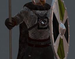 Viking Warrior 3D asset
