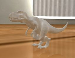t-rex figurine 3d printable model