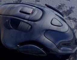 Argonian Star Hunter 3D model