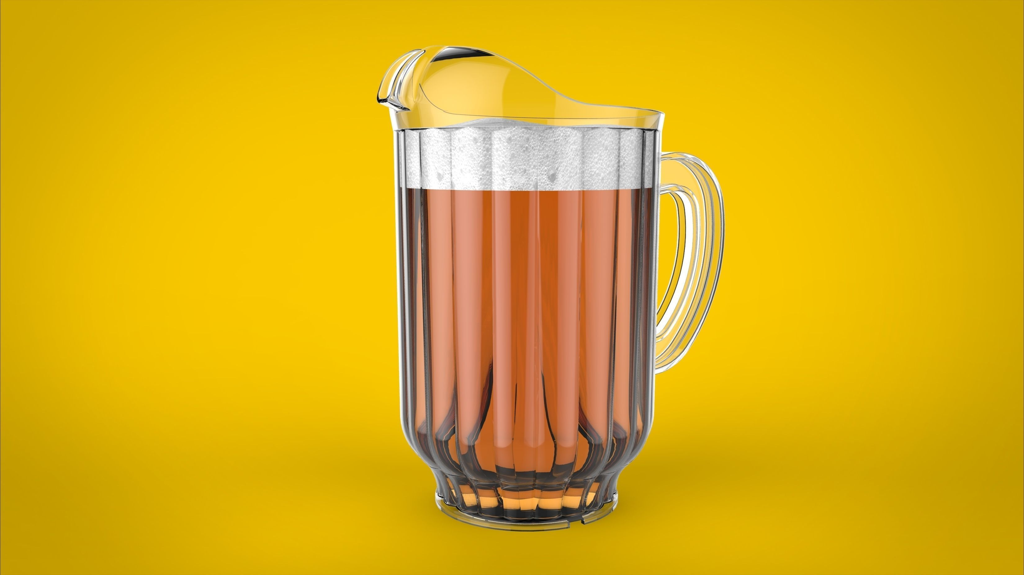 Beer pitcher free 3d model sldprt sldasm slddrw Free 3d