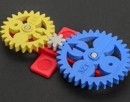 3D printable model Math Gears