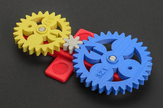 math gears 3d model stl 1