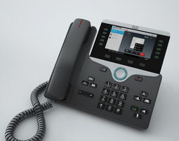 3D model Cisco IP Phone 8841