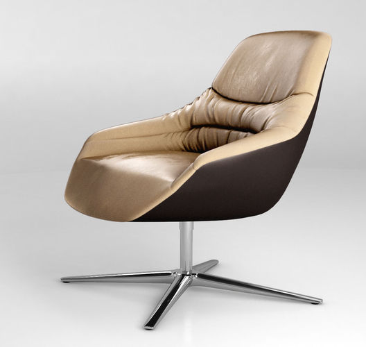 walter knoll kyo lounge chair 2015 3d model max obj. Black Bedroom Furniture Sets. Home Design Ideas