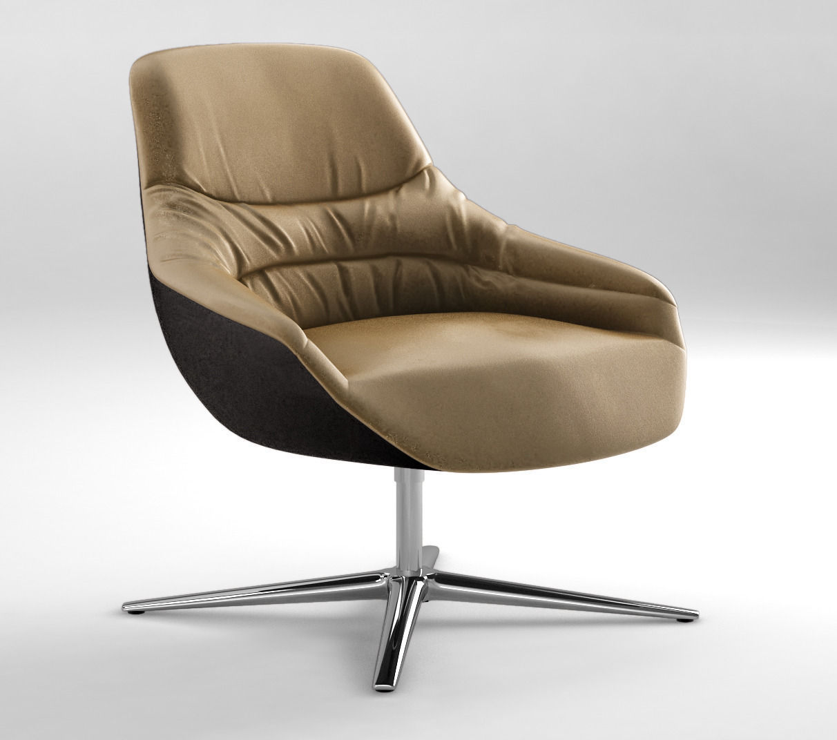 Walter knoll kyo lounge chair 2015 3d model max obj for Model furniture