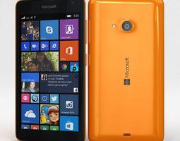 3D model Microsoft Lumia 535 and Dual SIM Orange