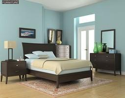 3D model Bedroom Set