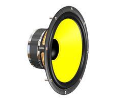 Speaker speaker 3D model
