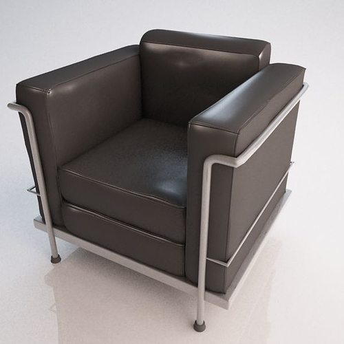 le corbusier chair 3d le corbusier chair cgtrader 12818