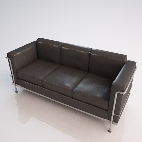 3d Le Corbusier Sofa Cgtrader