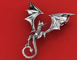 Great dragon pendant 3D Model