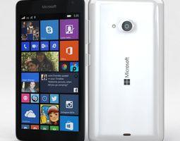 3D asset Microsoft Lumia 535 and Dual SIM White